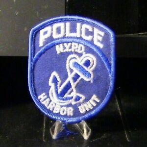 Parche-retirado-NYPD-Harbor-Unidad-Parche-de-policia