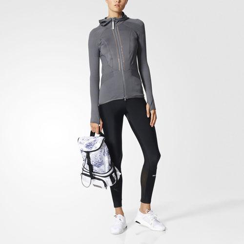 Women's Gray Running Ultra Tights