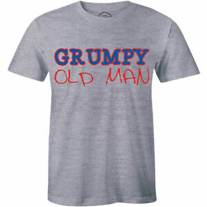 Mens-Grumpy-Old-Tee-Old-Man-T-Shirt-for-Men-Funny-Gift-Father-039-s-Day