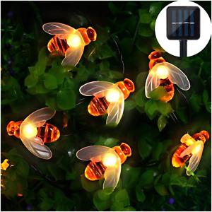 Mr-Twinklelight-Solar-String-Lights-Waterproof-30-LED-Honeybee-Solar-Powered