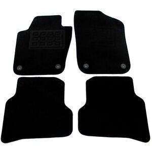 Velours-Fussmatten-Satz-fuer-Seat-IBIZA-6J-Automatten-Stoffmatten-4-Teilig-NEU