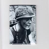 The Smiths / Meat Is Murder - Mini Poster Fridge Magnet (classic Vintage Vegan)