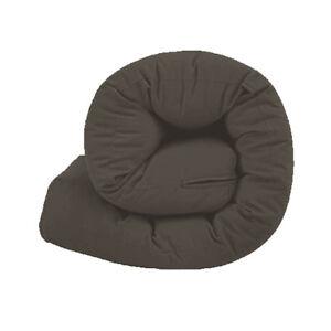 Gris Budget Simple Futon Canapé-lit Remplacement Roll Up Pliant Couchage Matelas-afficher Le Titre D'origine