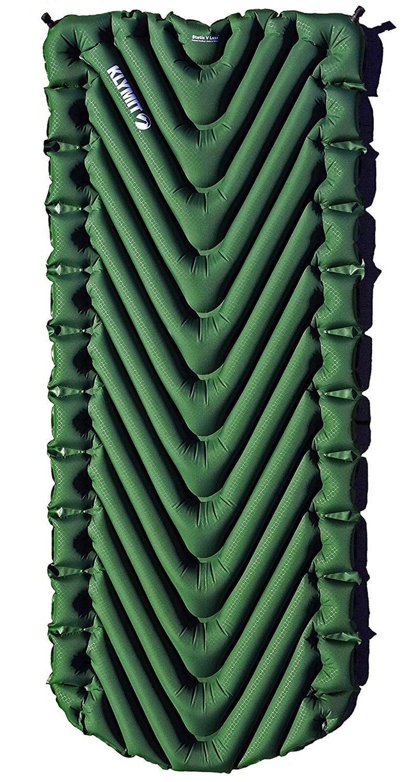 Klymit Static V Luxe - Camping Sleeping Pad Mat Forest Grün (GearAid)