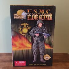 USMC Flamegunner 21 Toys Action Figures Camo Helmet 1//6 Scale