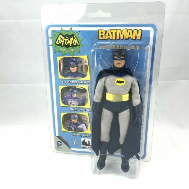 Batman Classic 1966 TV Series Action Figures Series 5 Removable Cowl Batman Figures Toy Company