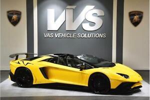 Details about Lamborghini Aventador Lp 750,4 Sv Roadster Convertible 6.5  Semi Auto Petrol