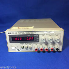 Agilent Hp E3630a 35w Triple Output 6v 25a Amp 20v 05a Dc Power Supply