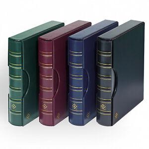 Leuchtturm-Ringbinder-GRANDE-Classic-Design-inkl-Schutzkassette-zur-Auswahl