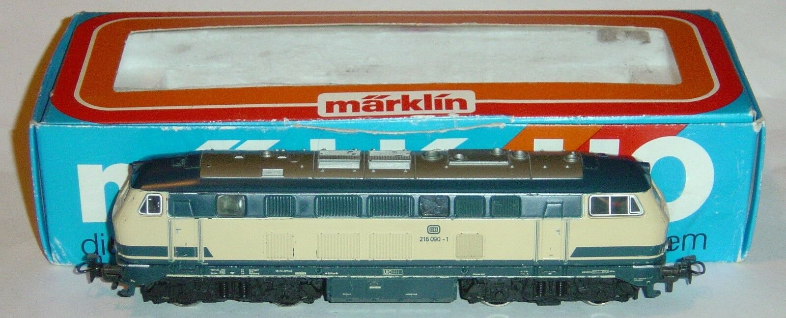 MARKLIN HO, LOCOMOTORA ANALÓGICA BR 216 090-1 DB REF.3074, DIGITAL OPCIONAL