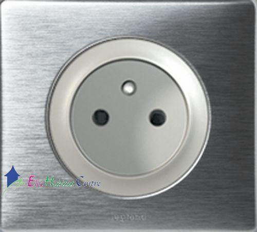 Set di 10 10 10 prese 2PT 16A Céliane alluminio completa 67111684128025168921 9280cd