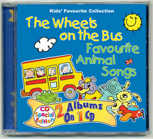 The-Wheels-on-the-Bus-amp-Favourite-Animal-Songs-CD-nursery-rhymes-kids-songs-NEW