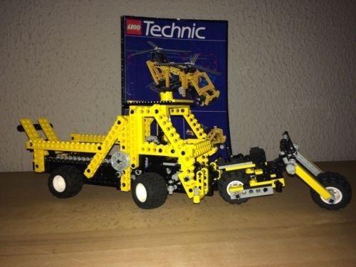 Lego Technic 8062 Universalset 6 in 1   Hubschrauber + 8838 Motorrad