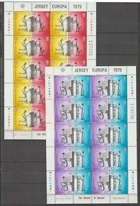 S-37376-Jersey-1979-MNH-New-Europa-2-Ms