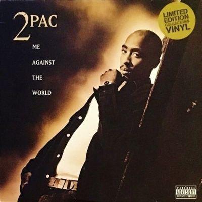 """2PAC - ME AGAINST THE WORLD - 2 LP VINYL 12"""" ALBUM - EU RI '00 - Dear Mama"""