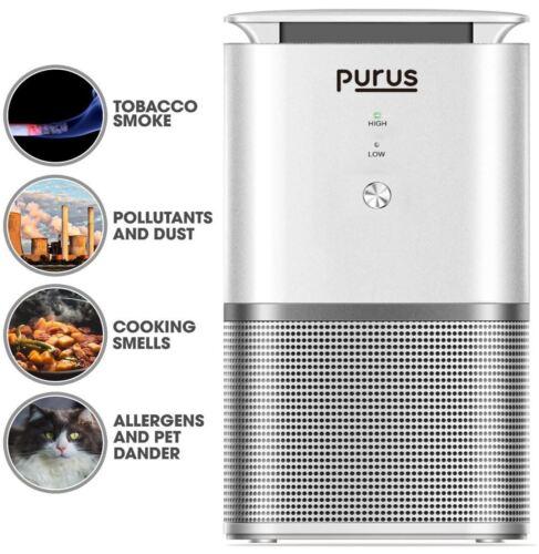 PURUS PRO HEPA AIR PURIFIER IONISER AIR CLEANER REMOVES 99/% ALLERGENS POLLEN