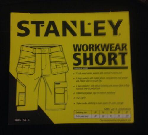 CHANDLER NEW MENS STANLEY BRANDED WORK WEAR SHORTS