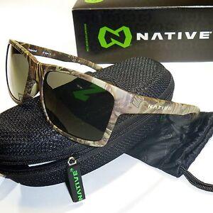 62285010862 Image is loading Native-Flatirons-Polarized-Sunglasses -Realtree-Camo-Max1-Frame-