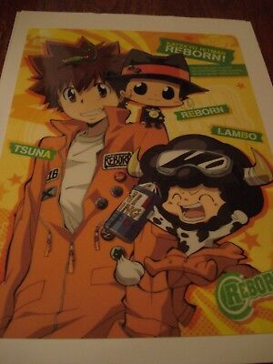 Katekyo Hitman Reborn Anime A5 Pencil Board Tsunayoshi Reborn Lambo Ebay