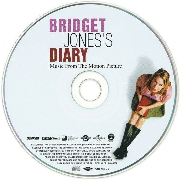 Various: Music The Motion Picture Bridget Jones's Diary,
