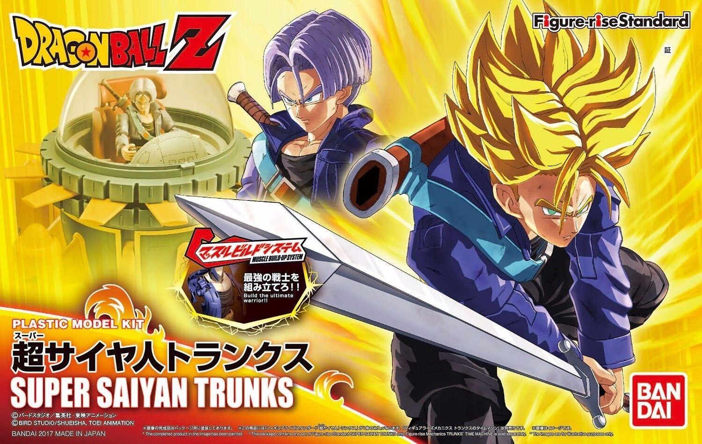 Figure-rise Standard Dragon Ball SUPER SAIYAN TRUNKS Model Kit BANDAI NEW F S