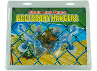 Chain Link Fence Accessory Hanger For Backyards & Swimming Pools(set Of 2)