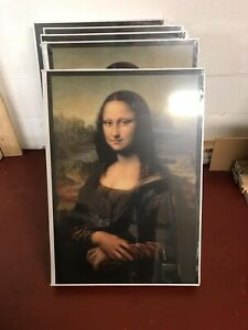 Ikea X Virgil Abloh X Off White Mona Lisa Painting Art Limited Edition Ebay