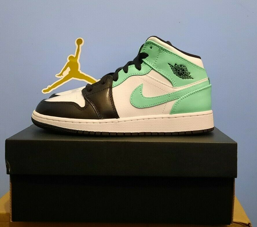 Nike Air Jordan 1 Mid GS Tropical Twist Igloo UK 4 US 4.5Y GS Quick Dispatch ✅