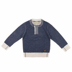 Trussardi Pullover dunkelblau Hoodie Sweatshirt Pull Hoody Kinder Jungen NP €74