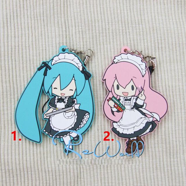 Hot Anime Cosplay Vocaloid Hatsune Miku Rubber Strap Keychain Pendant F107