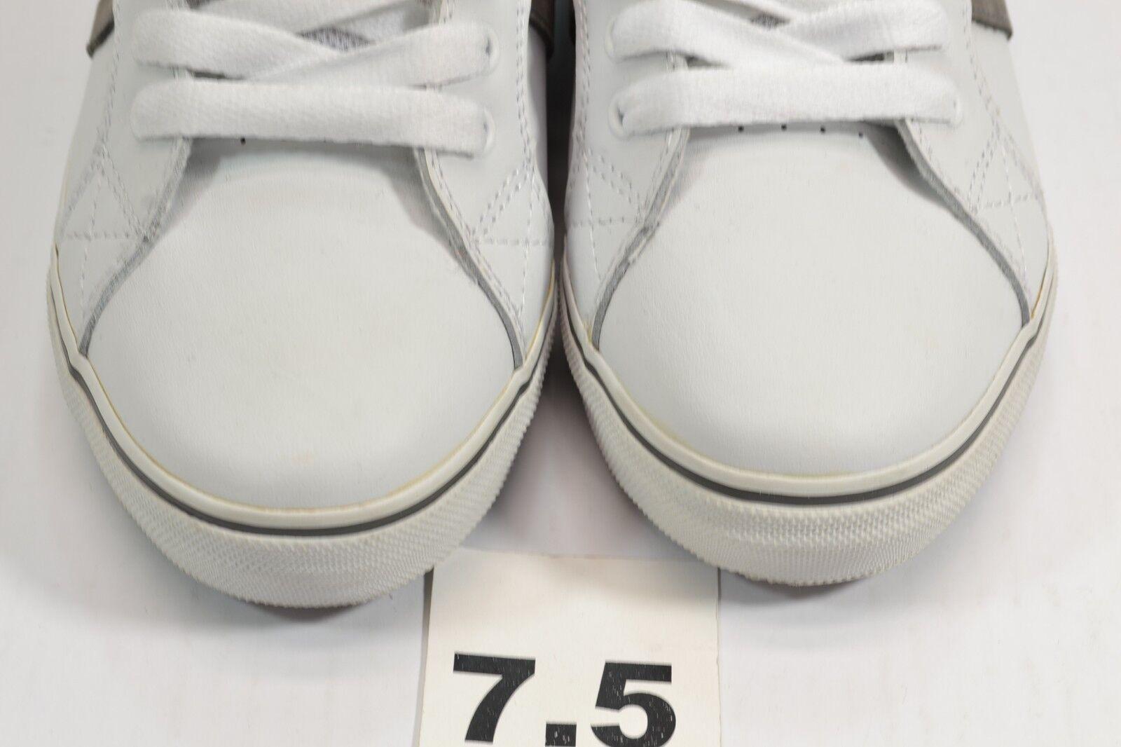 a51d6063f32 ... Lakai MJ2 SELECT White Grey Grey Grey Leather Skatebording Discounted  (110) Men s Shoes 57cb45 ...
