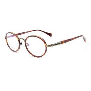 19c112e64b New Vintage Round Style Full Rim Myopia Glasses Frame Optical ...