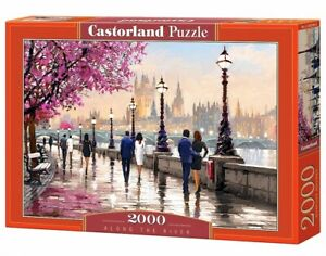 (CSC200566) - Castorland Jigsaw 2000 pc - Along the River