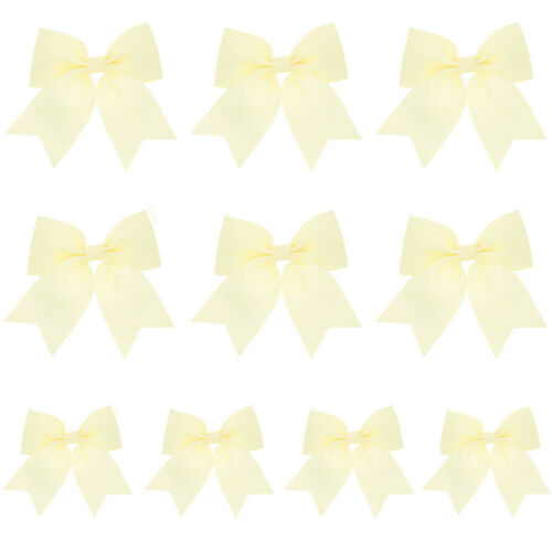10 Packs Kids Children Bow Hair Clips Headwear Hairpins Cute Accessories