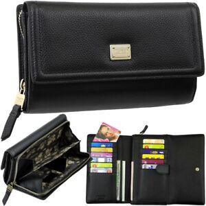 PICARD-grosse-Damen-Brieftasche-Clutch-Geldboerse-Portemonnaie-Geldbeutel-XL-purse