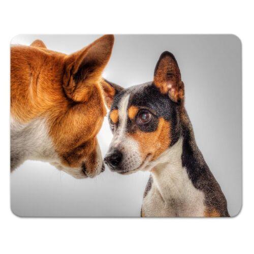 """Moosgummi funny dog 24x19cm Mauspad Mousepad  /""""lustiger Hund/"""" Hunde"""