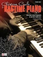 Christmas Carols For Ragtime Piano Sheet Music Piano Solo Songbook 002501853