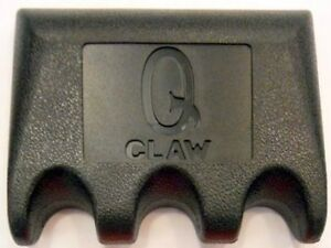 3 Cue Q Claw - Portable Pool Cue Holder - Holds 3 pool cues - 7 color choices