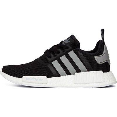 Adidas NMD R1 Black White OG Mesh Size