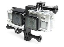 3D Waterproof Casing Connector + Tripod Mount für GoPro HERO 3+, 4 Black Zubehör