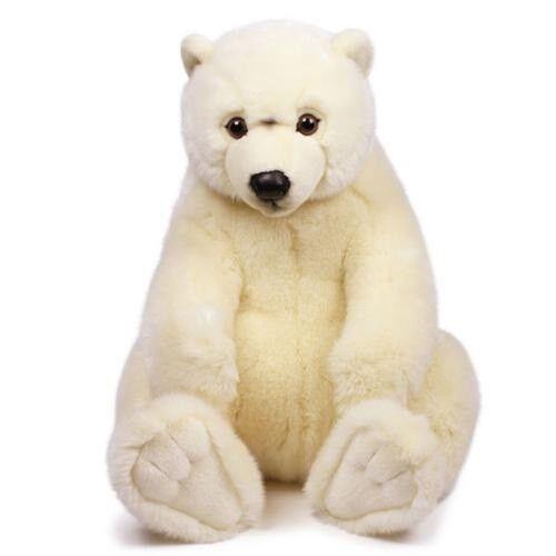Wwf 16869 Sitting Polar Bear 47 cm Cuddly Stuffed Toy Collection