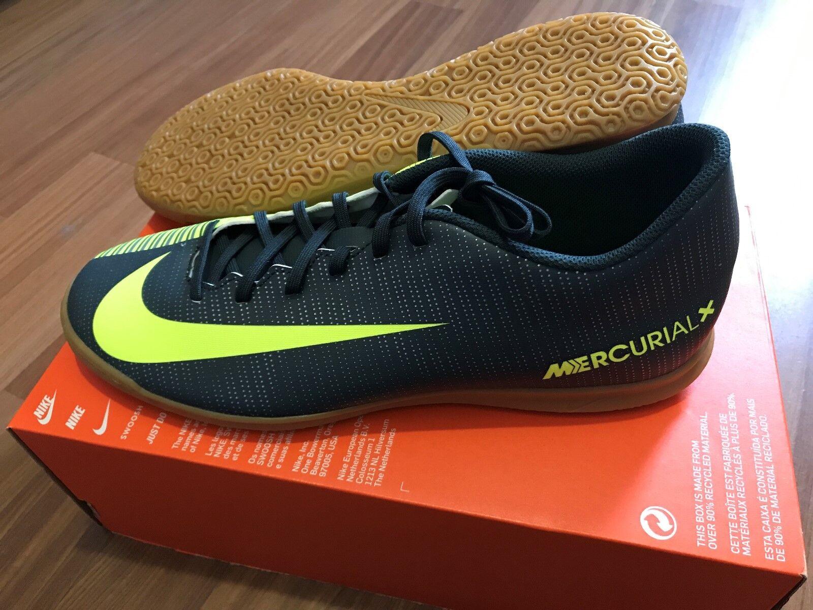 shoes DA CALCETTO NIKE MERCURIALX VORTEX III CR7 IC - NUOVE - PROFESSIONALI