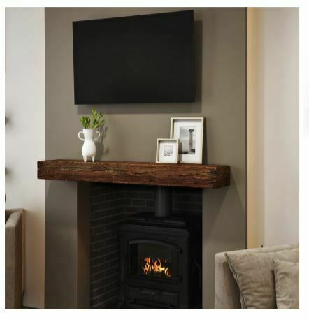"Fireplace Mantel Wall Shelf Beam 60/""SLF0220115010"
