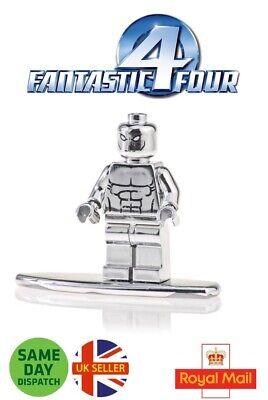 Silver Surfer Mini Figure Avengers Marvel Board Galactus Herald UK Seller