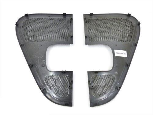 2004-2008 Ford F-150 Right /& Left Door Speaker Grille Covers Flint Grey OEM NEW