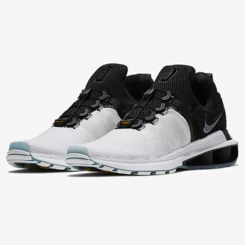 Mens Nike Shox Gravity AR1999-101 White Black NEW Size 11