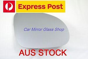 LEFT PASSENGER SIDE MIRROR GLASS FOR VW JETTA 2006-2011