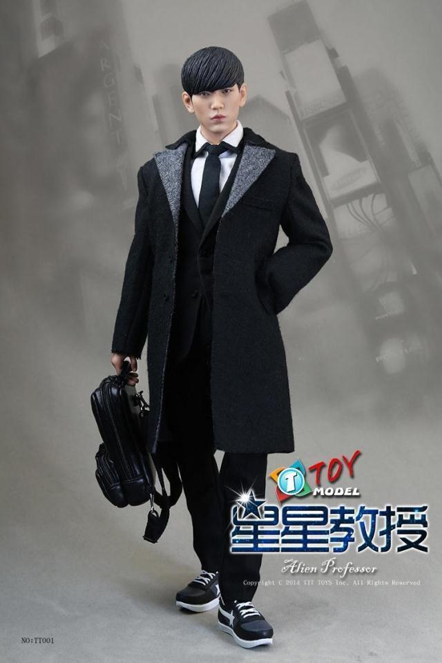 Korea1 6 FIGURE Set Hobby toys suit TITTOYS doll star professor Luxury TT001 NEW