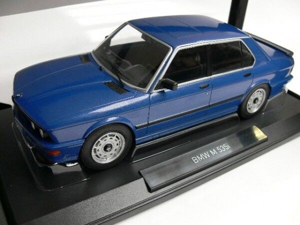 1 18 NOREV  BMW M 535i 1987 bleumetallic 183267  plus d'ordre