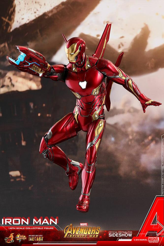 Avengers Infinity War 12  Movie Masterpiece - Iron Man Die Cast Hot Toys